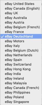 ebay Länder